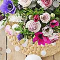 Fleurs du marché et Bouquet <b>homemade</b> !