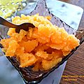 Sorbet Carotte - <b>Orange</b> - Citron