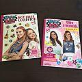 Des #livres d'<b>activités</b> pour petites #filles autour des passions de Maggie & Bianca : la #mode et le #chant !