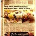 Un article dans le <b>journal</b>