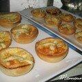 Tartelettes au roquefort et emmental au cumin et photos décos Noël aux <b>Sables</b> <b>d</b>'<b>Olonne</b> rues piétonnes