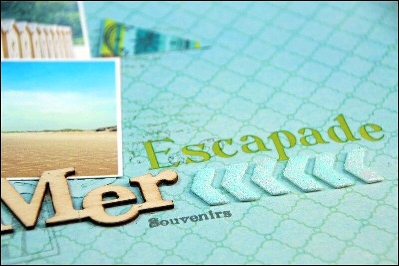 Tacha escapade à la mer détail 2p