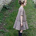 une petite robe à plis ♥