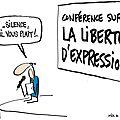 La <b>liberté</b> <b>d</b>'<b>expression</b>