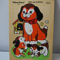 <b>puzzle</b> en bois fisher price