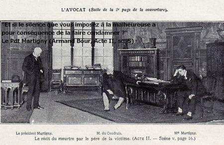 Eugène Brieux L'Avocat au Th du Vaudeville