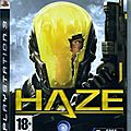 haze par jeu video giga france (playstation 3)