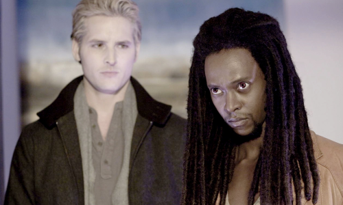 Peter Facinelli & Edi Gathegi
