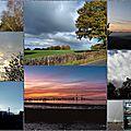 Petit coin de <b>ciel</b> du Lundi 13 Novembre : Mosaïque de nos <b>ciels</b>