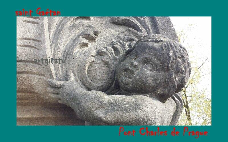 Pont Charles saint Gaétan Artgitato Prague 6