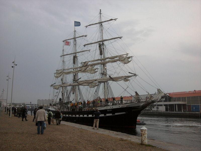 Le Belem en escale au Havre jusqu'au 2 mai 64202941
