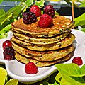 Pancakes Banane Avoine & Pépites de Chocolat