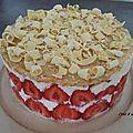 Le fraisier de Mamy