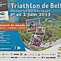 Triatlon 2013, Championnat du Monde Longue Distance à Belfort