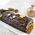 Bûche de Noël au chocolat super simple et facile