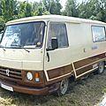 <b>PEUGEOT</b> J9 Knuffel camping car 1982