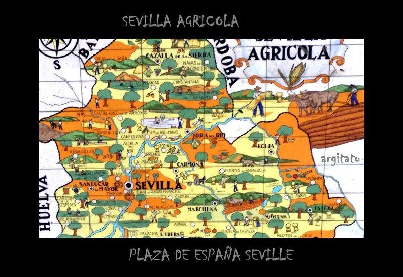 SEVILLA AGRICOLA Artgitato Plaza de España