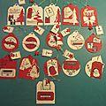 Tags pour emballages cadeaux
