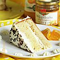 Layer cake à l'<b>orange</b>