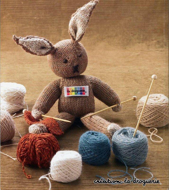 kit tricot lapin