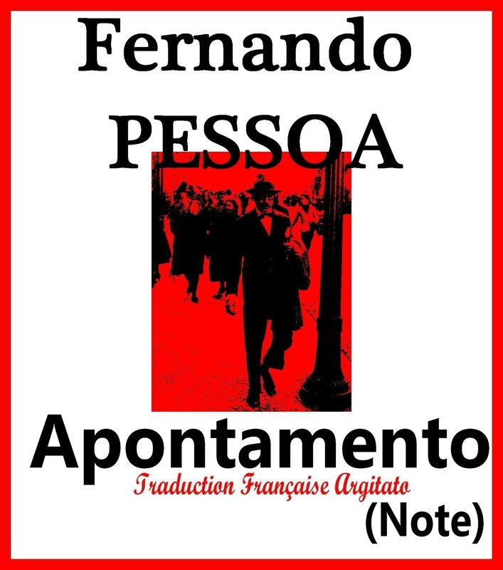 Apontamento Fernando Pessoa Artgitato Traduction Française Note