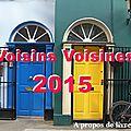 <b>Challenge</b> Voisins Voisines 2015 - Billet récapitulatif