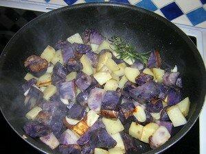 recettes  Dos de Cabillaud Sauce au Citron   Aneth et son Ecrasée de Pommes de Terre Vitelotte