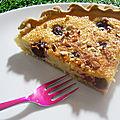 Buttermilk Pie griotte-<b>amande</b>