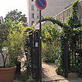 Un <b>jardin</b> partagé parisien: Leroy Sème