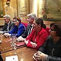 DERNIER CLOCHEMERLE NORMAND: L'appel au calme des élus caennais