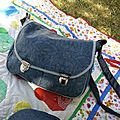 Premier sac : la besace Made In China !