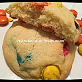 Cookies moelleux aux m&m'<b>s</b> façon Martha Stewart