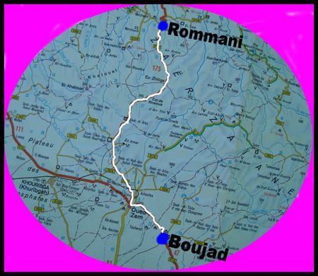 Le Tour Du Maroc A V Lo Bouja D Rommani