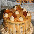 Layer Cake au <b>caramel</b> <b>beurre</b> <b>salé</b>