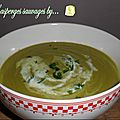 <b>Velouté</b> d'asperges sauvages... version Thermomix