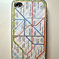 COQUE IPHONE - <b>METRO</b> DE LONDRES