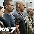 Box-office US : Fast and Furious 7 continue sa course en tête