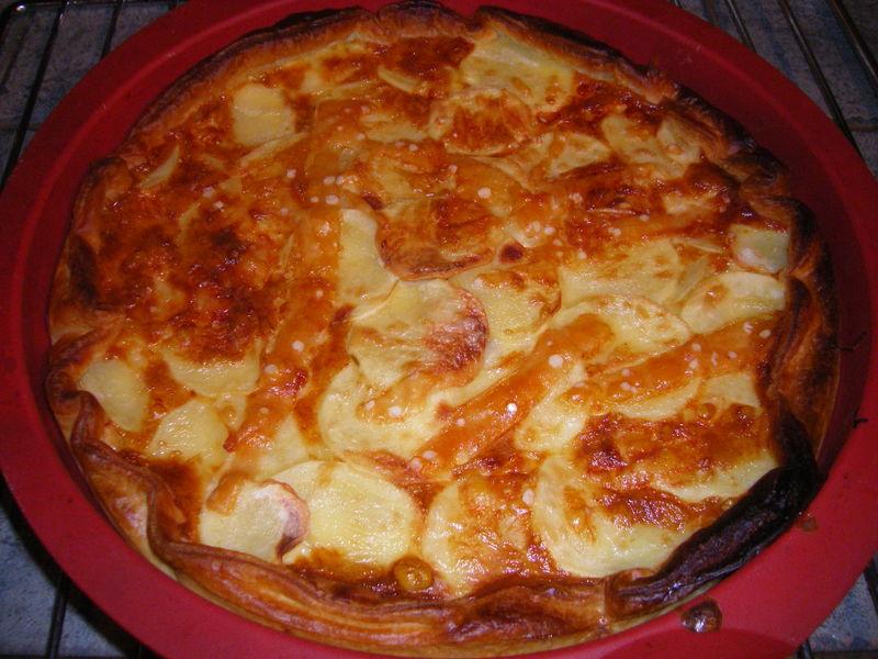 gateau de pommes de terre 224 la cancoillotte recette