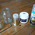 <b>Gold</b> jars DIY