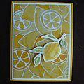 Carte Citron