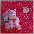 Le petit hippopotame rose