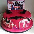 <b>Gâteau</b> Chica Vampiro