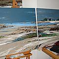 Morgane Raguénes - Mer, Océan et Bretagne en peinture