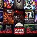 Humble <b>Care</b> Package Bundle : achetez pour la bonne cause !