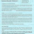 TRIBUNE LIBRE : Projet de fusion Bouray-Lardy - Bouray Autrement