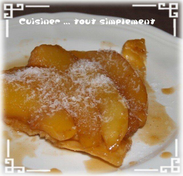 Tarte tatin la mangue et au gingembre cuisiner tout - Cuisiner le gingembre ...
