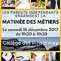 Parents Indépendants du Collège des Pins d'Alep