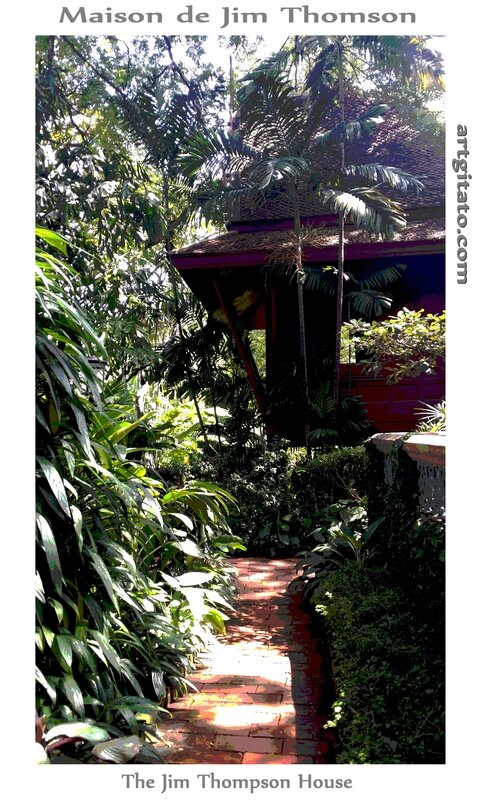 Maison de Jim Thomson The Jim Thompson House Bangkok Thailand Thailande 6