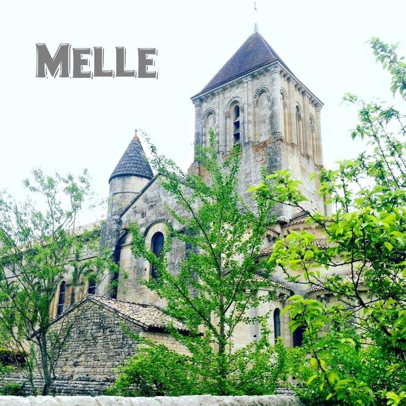 Melle dans les Deux-Sèvres