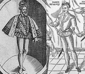 Trousses fin des années 1580
